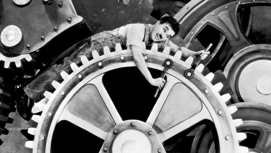 Chaplin - Temps Modernes